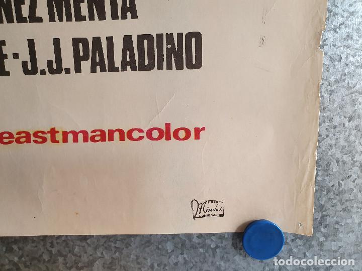 Cine: La saga de los Drácula. Tina Sáinz, Tony Isbert, Narciso Ibáñez Menta . AÑO 1973. POSTER ORIGINAL - Foto 8 - 201772276