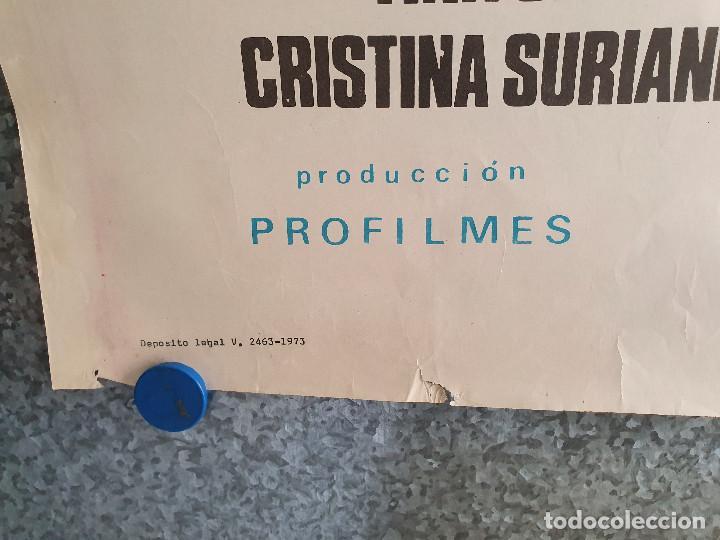 Cine: La saga de los Drácula. Tina Sáinz, Tony Isbert, Narciso Ibáñez Menta . AÑO 1973. POSTER ORIGINAL - Foto 10 - 201772276