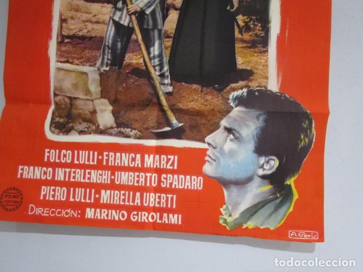 Cine: POSTER 99X70CM - EL RESCATE - FOLCO LULLI, FRANZA MARZI, ORIGINAL, FORTUNA FILMS, A. PERIS + INFO - Foto 3 - 202031450