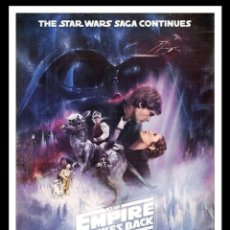 Cine: PÓSTER STAR WARS SAGA CONTINUES IMPERIO CONTRATACA EMPIRE STRIKES BACK. Lote 202038045