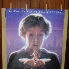 Cine: LA LLAVE MÁGICA PÓSTER ORIGINAL 98X68CM (1995) FRANK OZ, HAL SCARDINO, LITEFOOT. Lote 202271380