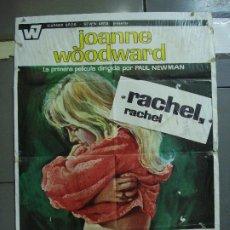Cine: CDO 1745 RACHEL RACHEL PAUL NEWMAN JOANNE WOODWARD MCP POSTER ORIGINAL 70X100 ESTRENO. Lote 202321783