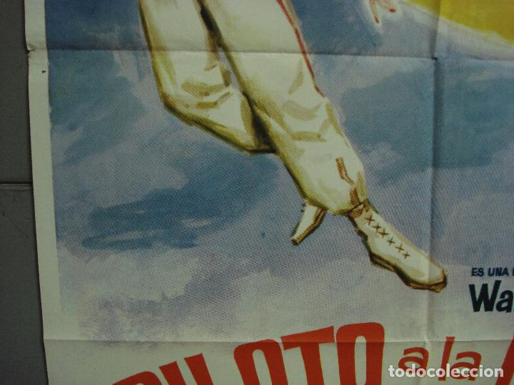Cine: CDO 1766 PILOTO A LA LUNA WALT DISNEY TOM TRYON DANY SAVAL POSTER ORIGINAL 70X100 ESTRENO - Foto 4 - 202330672