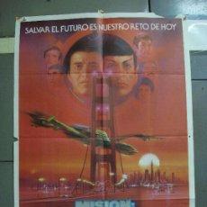Cine: CDO 1770 STAR TREK 4 MISION SALVAR LA TIERRA WILLIAM SHATNER NIMOY BOB PEAK POSTER 70X100 ESTRENO. Lote 202331008
