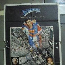 Cine: CDO 1775 SUPERMAN EL FILM CHRISTOPHER REEVE RICHARD DONNER POSTER ORIGINAL 70X100 ESTRENO. Lote 202331816