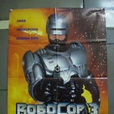Cine: CDO 1776 ROBOCOP 3 FRED DEKKER ROBERT BURKE POSTER ORIGINAL 70X100 ESTRENO. Lote 202331977