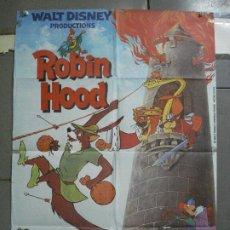 Cine: CDO 1783 ROBIN HOOD WALT DISNEY POSTER ORIGINAL 70X100 ESPAÑOL R-80S. Lote 202338231