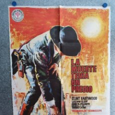 Cine: LA MUERTE TENIA UN PRECIO. CLINT EASTWOOD, LEE VAN CLEEF. AÑO 1978. POSTER ORIGINAL. Lote 202366333