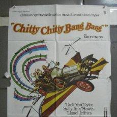 Cine: CDO 1809 CHITTY CHITTY BANG BANG DICK VAN DYKE IAN FLEMING POSTER POSTER ORIGINAL 70X100 ESPAÑOL. Lote 202412192