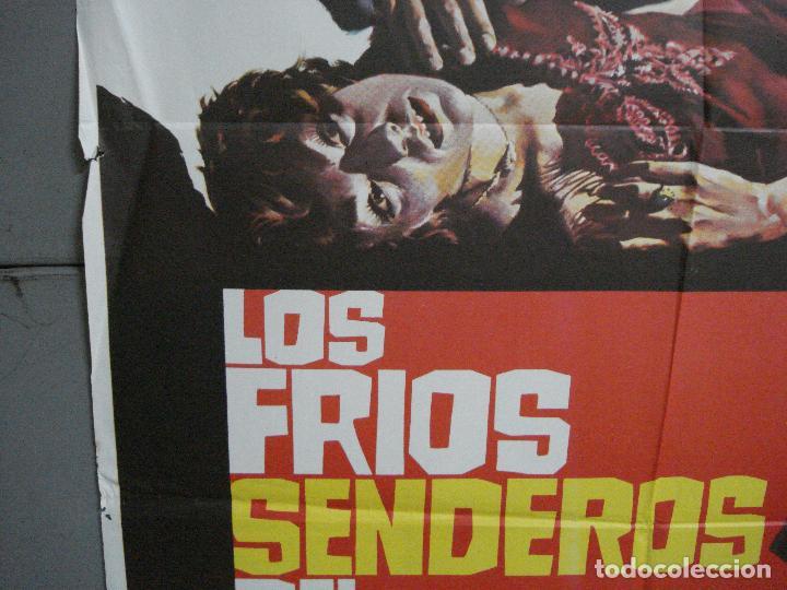 Cine: CDO 1883 LOS FRIOS SENDEROS DEL CRIMEN CARLOS AURED AGATA LYS POSTER ORIGINAL 70X100 del ESTRENO - Foto 4 - 202558781