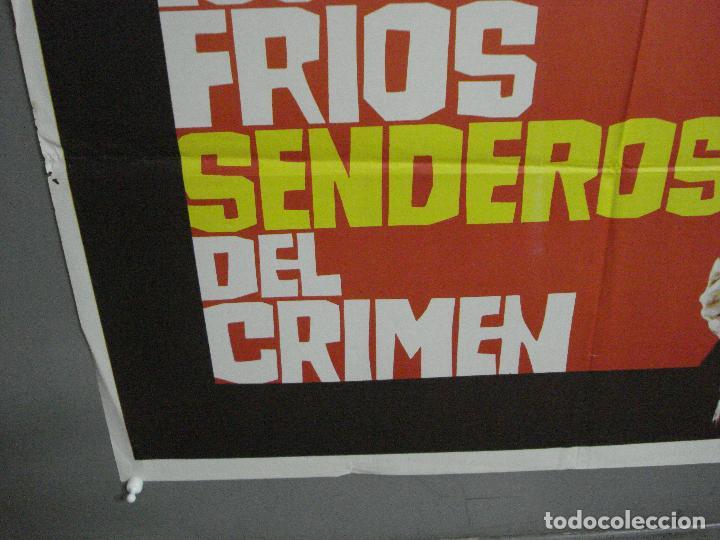 Cine: CDO 1883 LOS FRIOS SENDEROS DEL CRIMEN CARLOS AURED AGATA LYS POSTER ORIGINAL 70X100 del ESTRENO - Foto 5 - 202558781