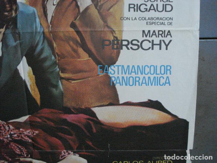 Cine: CDO 1883 LOS FRIOS SENDEROS DEL CRIMEN CARLOS AURED AGATA LYS POSTER ORIGINAL 70X100 del ESTRENO - Foto 7 - 202558781