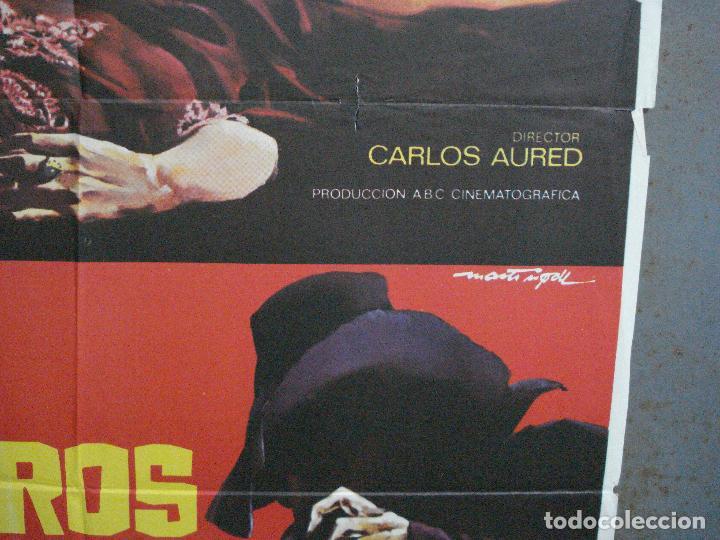 Cine: CDO 1883 LOS FRIOS SENDEROS DEL CRIMEN CARLOS AURED AGATA LYS POSTER ORIGINAL 70X100 del ESTRENO - Foto 8 - 202558781