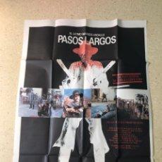 Cine: POSTER GRANDE PELICULA PASOS LARGOS. Lote 202883048
