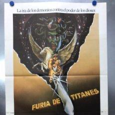 Cine: FURIA DE TITANES. HARRY HAMLIN, JUDI BOWKER, BURGESS MEREDITH. AÑO 1981. Lote 202945045