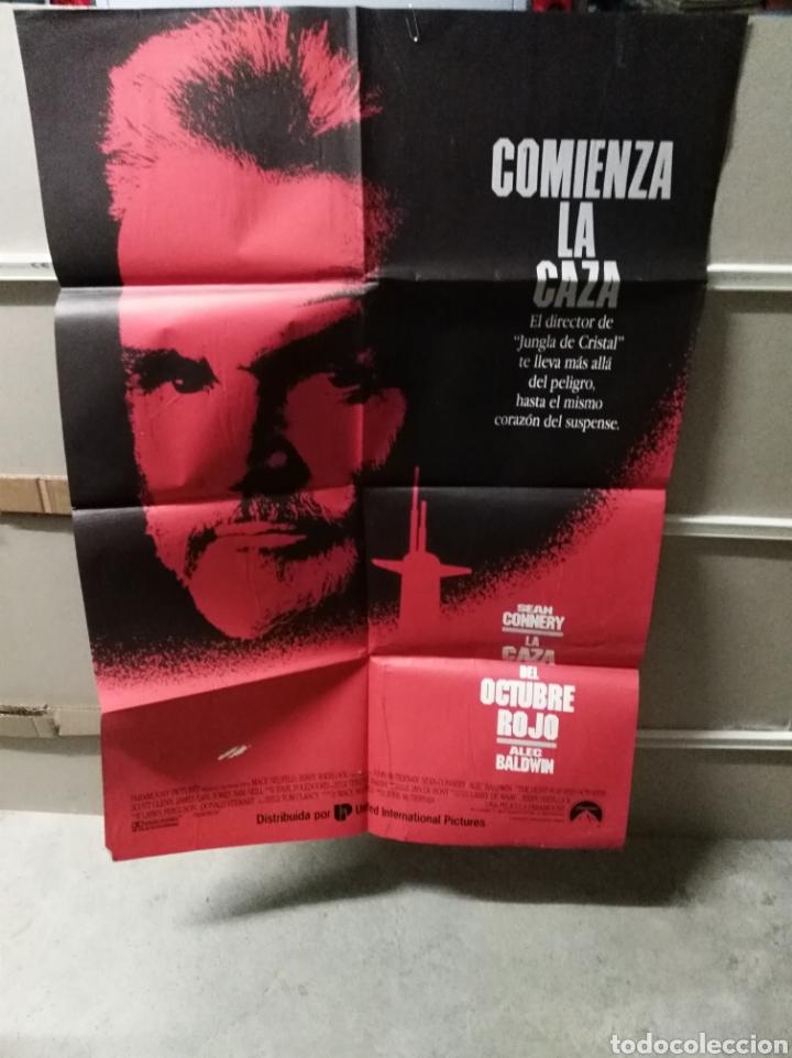 LA CAZA DEL OCTUBRE ROJO SEAN CONNERY POSTER ORIGINAL 70X100 YY (2276) (Cine - Posters y Carteles - Bélicas)