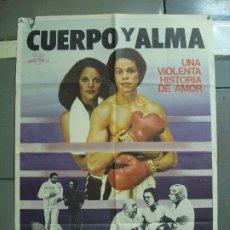 Cine: CDO 1905 CUERPO Y ALMA MUHAMMAD ALI CASSIUS CLAY BOXEO POSTER ORIGINAL 70X100 ESTRENO. Lote 202953673