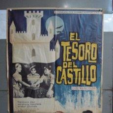 Cine: CDO 1918 EL TESORO DEL CASTILLO ANTONIO CASAS MATAIX POSTER ORIGINAL 70X100 ESTRENO. Lote 202980220