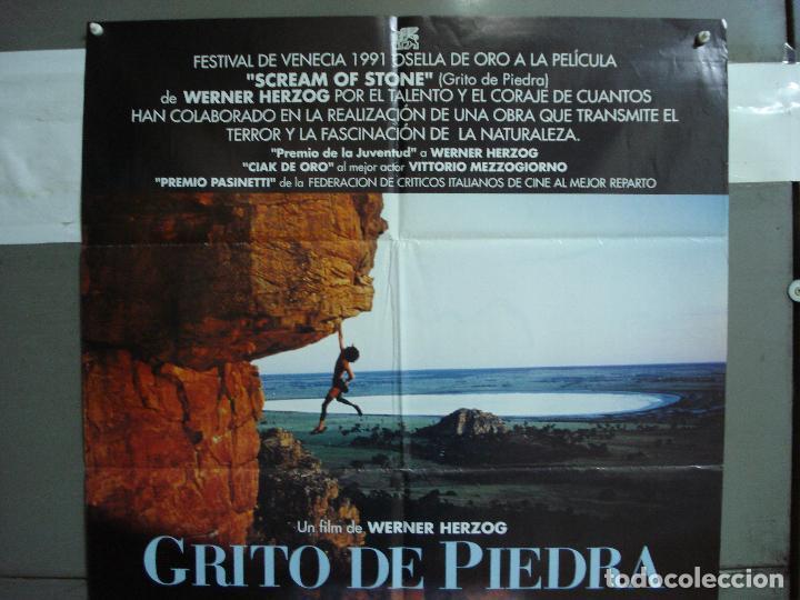 Cine: CDO 1919 GRITO DE PIEDRA WERNER HERZOG ALPINISMO MONTAÑA POSTER ORIGINAL 70X100 ESTRENO - Foto 2 - 202981002