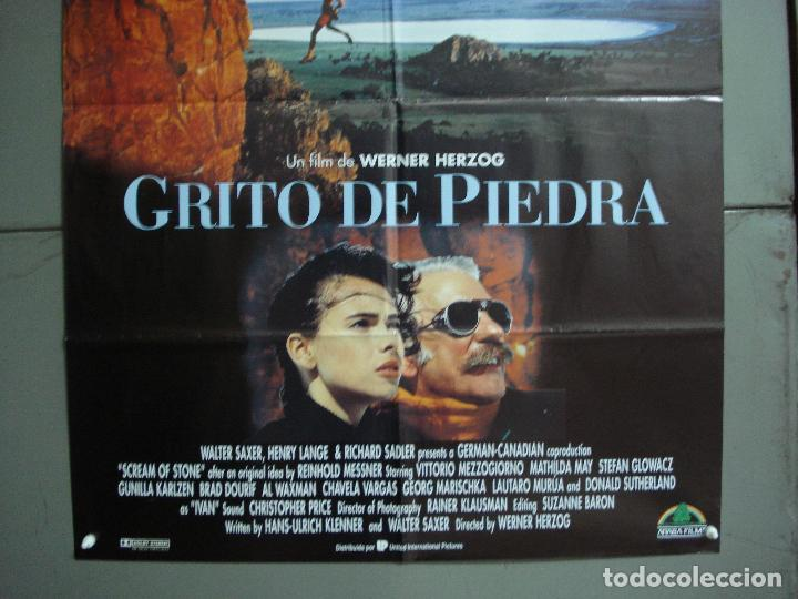 Cine: CDO 1919 GRITO DE PIEDRA WERNER HERZOG ALPINISMO MONTAÑA POSTER ORIGINAL 70X100 ESTRENO - Foto 3 - 202981002