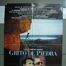Cine: CDO 1919 GRITO DE PIEDRA WERNER HERZOG ALPINISMO MONTAÑA POSTER ORIGINAL 70X100 ESTRENO. Lote 202981002