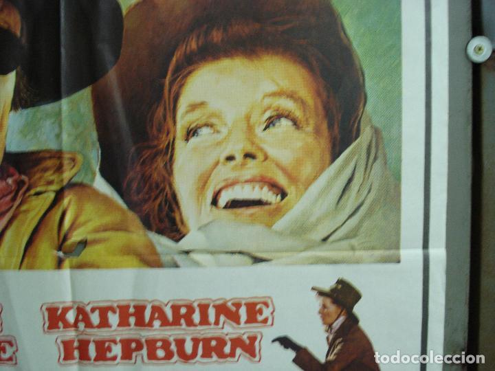 Cine: CDO 1922 EL RIFLE Y LA BIBLIA JOHN WAYNE KATHARINE HEPBURN POSTER ORIGINAL 70X100 ESTRENO - Foto 7 - 203040120