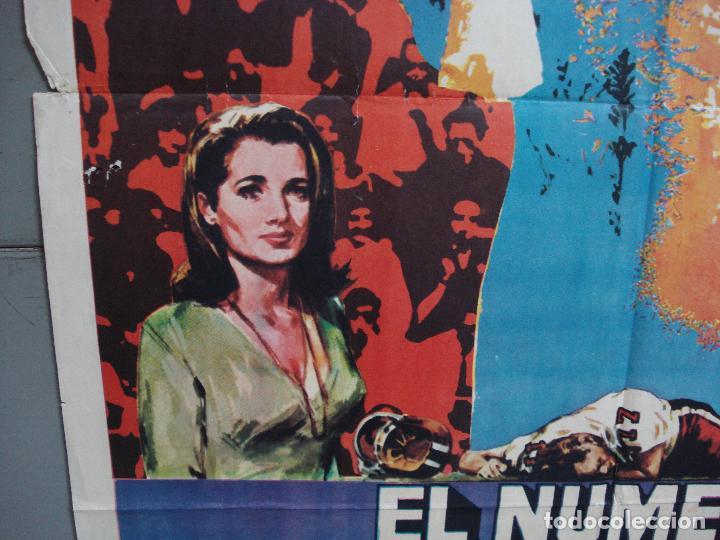 Cine: CDO 1934 EL NUMERO UNO CHARLTON HESTON FUTBOL AMERICANO JANO POSTER ORIGINAL 70X100 ESTRENO - Foto 4 - 203047400