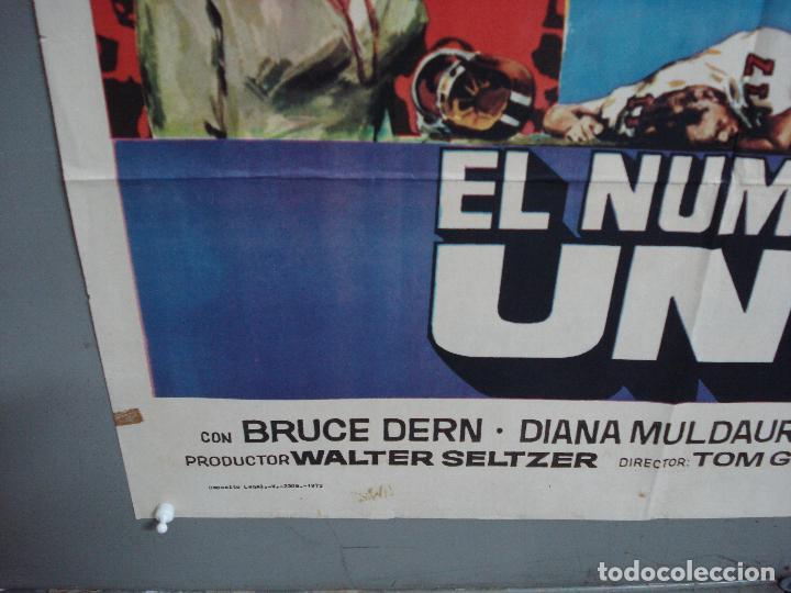 Cine: CDO 1934 EL NUMERO UNO CHARLTON HESTON FUTBOL AMERICANO JANO POSTER ORIGINAL 70X100 ESTRENO - Foto 5 - 203047400