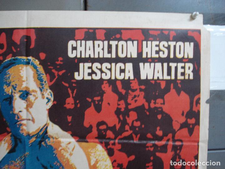 Cine: CDO 1934 EL NUMERO UNO CHARLTON HESTON FUTBOL AMERICANO JANO POSTER ORIGINAL 70X100 ESTRENO - Foto 6 - 203047400