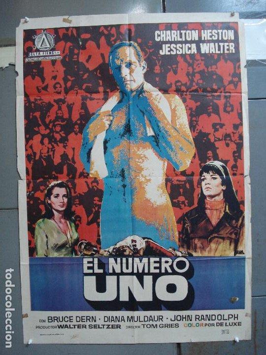 CDO 1934 EL NUMERO UNO CHARLTON HESTON FUTBOL AMERICANO JANO POSTER ORIGINAL 70X100 ESTRENO (Cine - Posters y Carteles - Deportes)