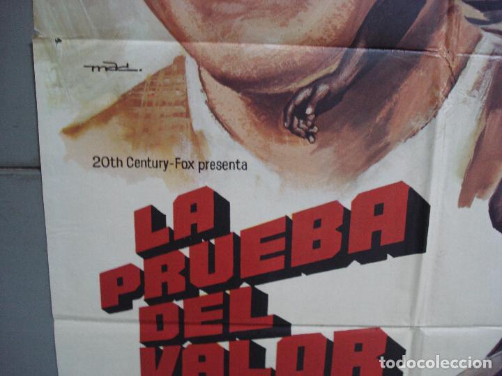 Cine: CDO 1960 LA PRUEBA DEL VALOR MICHAEL CRAWFORD JUEGOS OLIMPICOS MAC POSTER ORIGINAL 70X100 ESTRENO - Foto 4 - 203052932