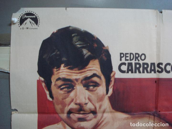 Cine: CDO 1962 EL MARINO DE LOS PUÑOS DE ORO PEDRO CARRASCO SONIA BRUNO BOXEO POSTER ORIG 70X100 ESTRENO - Foto 2 - 203053750