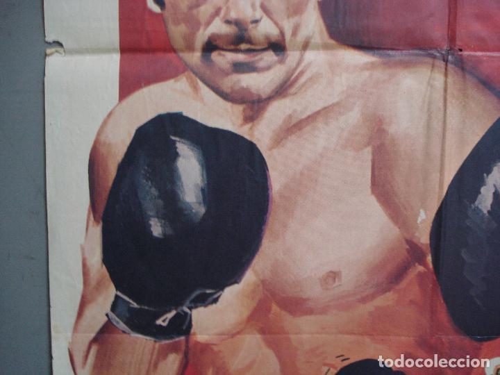 Cine: CDO 1962 EL MARINO DE LOS PUÑOS DE ORO PEDRO CARRASCO SONIA BRUNO BOXEO POSTER ORIG 70X100 ESTRENO - Foto 3 - 203053750