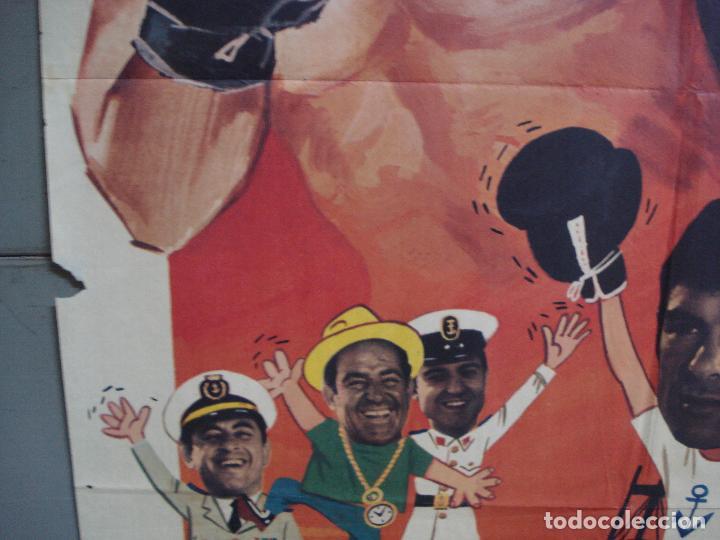 Cine: CDO 1962 EL MARINO DE LOS PUÑOS DE ORO PEDRO CARRASCO SONIA BRUNO BOXEO POSTER ORIG 70X100 ESTRENO - Foto 4 - 203053750