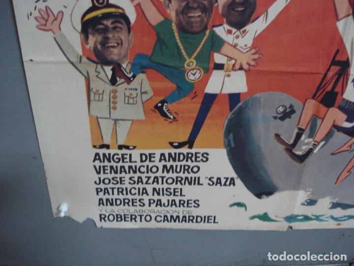 Cine: CDO 1962 EL MARINO DE LOS PUÑOS DE ORO PEDRO CARRASCO SONIA BRUNO BOXEO POSTER ORIG 70X100 ESTRENO - Foto 5 - 203053750