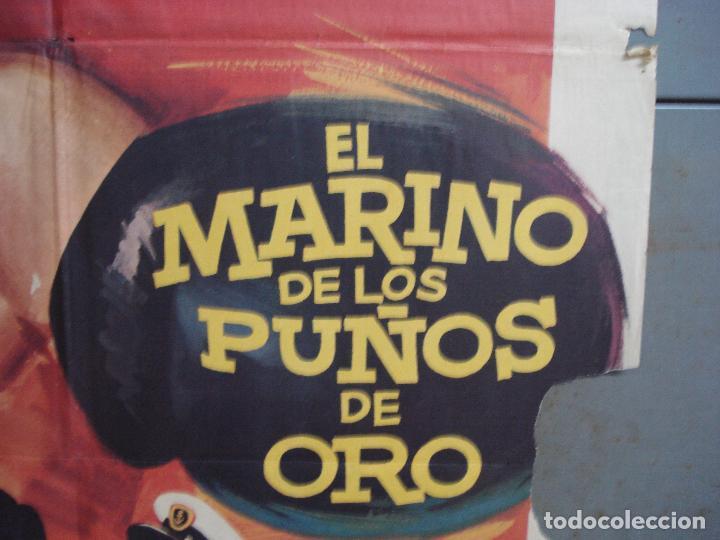 Cine: CDO 1962 EL MARINO DE LOS PUÑOS DE ORO PEDRO CARRASCO SONIA BRUNO BOXEO POSTER ORIG 70X100 ESTRENO - Foto 7 - 203053750