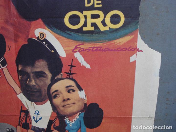 Cine: CDO 1962 EL MARINO DE LOS PUÑOS DE ORO PEDRO CARRASCO SONIA BRUNO BOXEO POSTER ORIG 70X100 ESTRENO - Foto 8 - 203053750