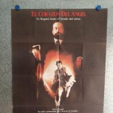 Cinéma: EL CORAZÓN DEL ÁNGEL. MICKEY ROURKE, ROBERT DE NIRO. AÑO 1987. POSTER ORIGINAL. Lote 203068170
