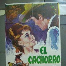 Cine: CDO 1991 EL CACHORRO PEDRO ARMENDARIZ BLANCA SANCHEZ POSTER 70X100 ESTRENO. Lote 203139445