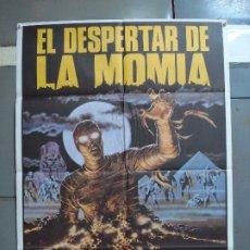 Cine: CDO 2007 EL DESPERTAR DE LA MOMIA FRANK AGRAMA TERROR POSTER ORIGINAL ESTRENO 70X100. Lote 203150205
