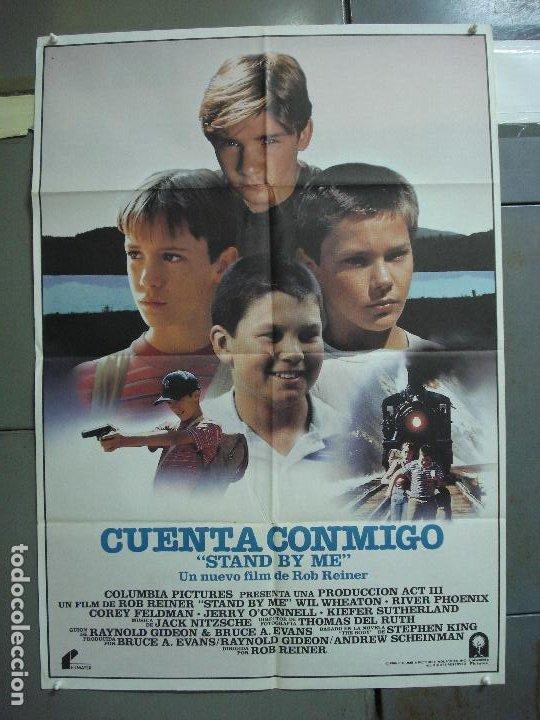 CDO 2024 CUENTA CONMIGO STAND BY ME RIVER PHOENIX POSTER ORIGINAL ESTRENO 70X100 (Cine - Posters y Carteles - Documentales)