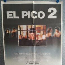 Cinéma: EL PICO 2. JOSÉ LUIS MANZANO, FERNANDO GUILLÉN, AGUSTÍN GONZÁLEZ. AÑO 1984. POSTER ORIGINAL. Lote 203159588