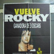 Cine: CDO 2027 ROCKY SYLVESTER STALLONE BOXEO POSTER ORIGINAL 70X100 ESPAÑOL R-86. Lote 203159803