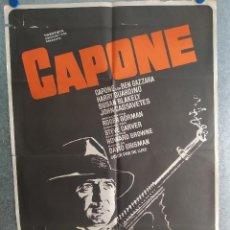 Cine: AL CAPONE. BEN GAZZARA, HARRY GUARDINO, SUSAN BLAKELY. AÑO 1975. POSTER ORIGINAL. Lote 269096958