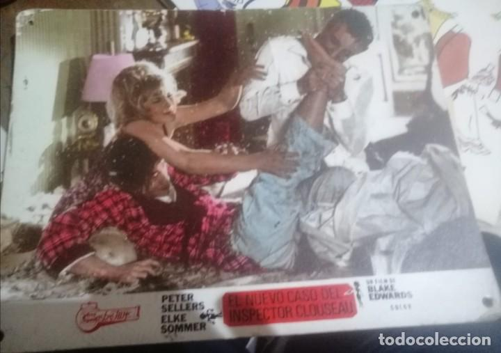CARTEL DE CINE EL NUEVO CASO DEL INSPECTOR CLOUSEAU EN CARTON MADERA (Cine - Posters y Carteles - Comedia)