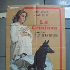 Cine: CDO 2035 LA CRIATURA ANA BELEN ELOY DE LA IGLESIA POSTER ORIGINAL 70X100 ESTRENO. Lote 203161961