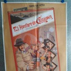 Cine: EL HOMBRE DE CHINATOWN. FREDERIC FORREST, PETER BOYLE, MARILU HENNER. AÑO 1982. POSTER ORIGINAL. Lote 203162151