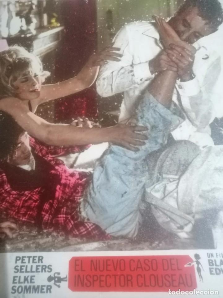 Cine: Cartel de cine el nuevo caso del inspector Clouseau en carton madera - Foto 3 - 203161407