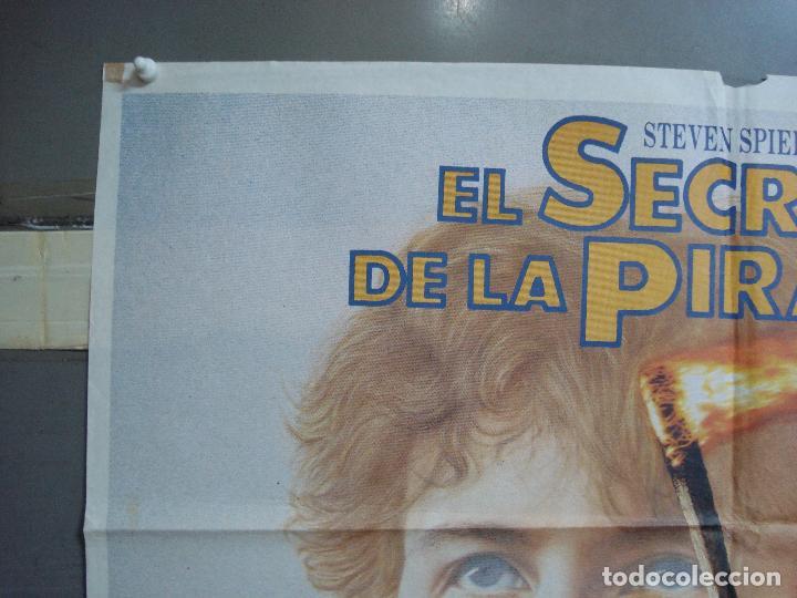 Cine: CDO 2047 EL SECRETO DE LA PIRAMIDE SHERLOCK HOLMES SPIELBERG LEVINSON POSTER ORIGINAL 70X100 ESTRENO - Foto 2 - 203170441