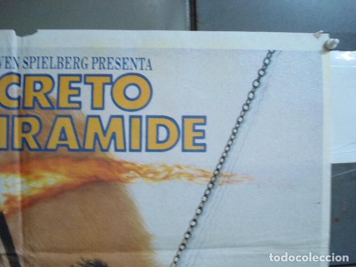 Cine: CDO 2047 EL SECRETO DE LA PIRAMIDE SHERLOCK HOLMES SPIELBERG LEVINSON POSTER ORIGINAL 70X100 ESTRENO - Foto 6 - 203170441